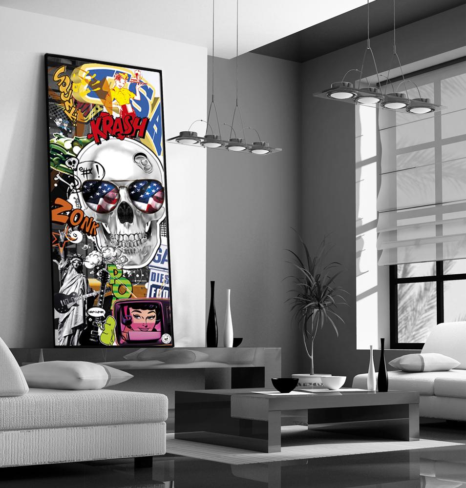 Mon monde imaginaire avec un tableau decoration