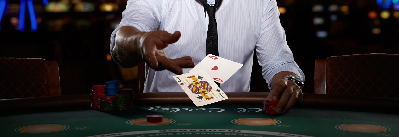 Se donner rendez-vous dans une partie de blackjack