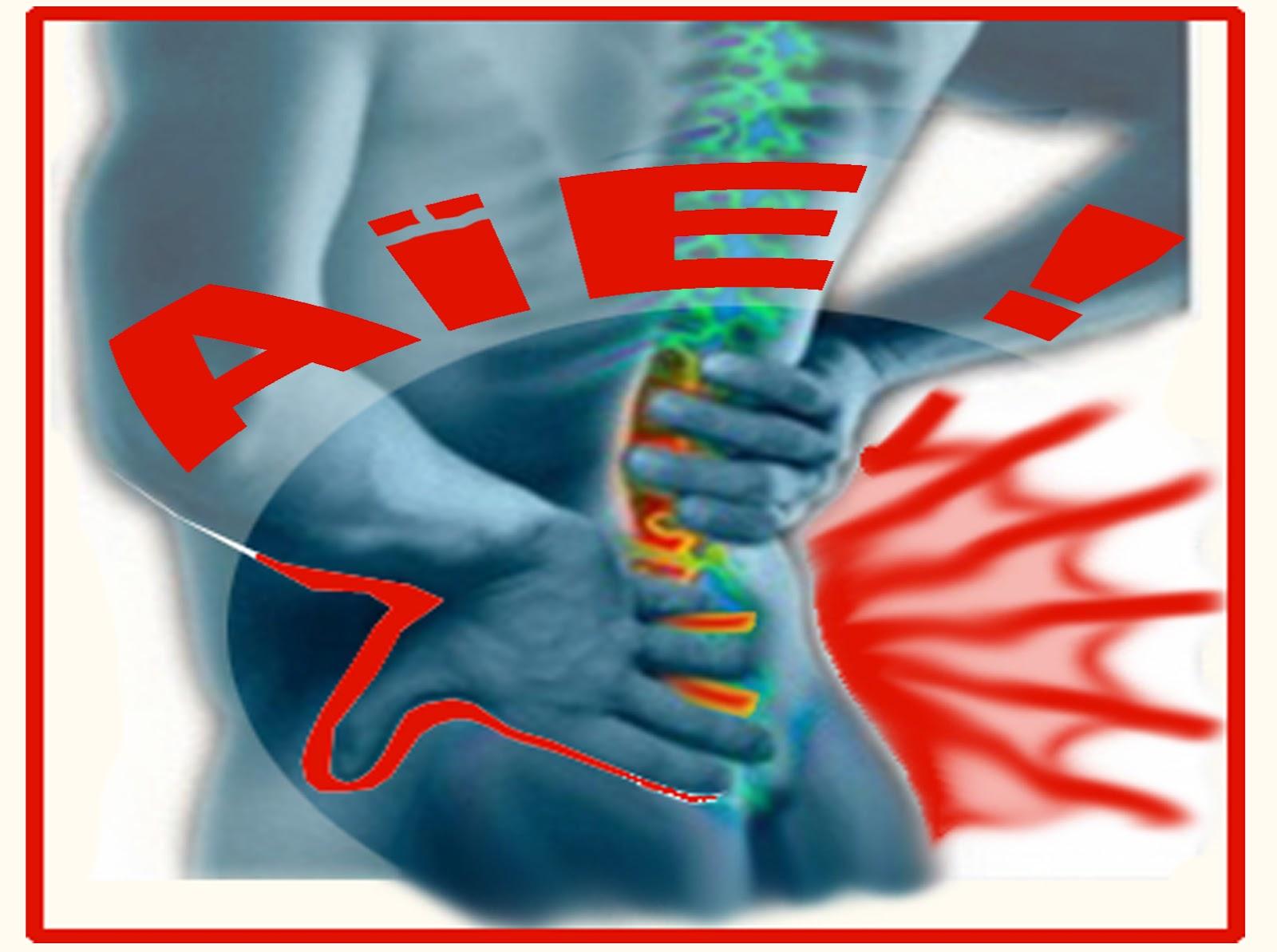 Mal de dos musculaire : Les douleurs dorsales